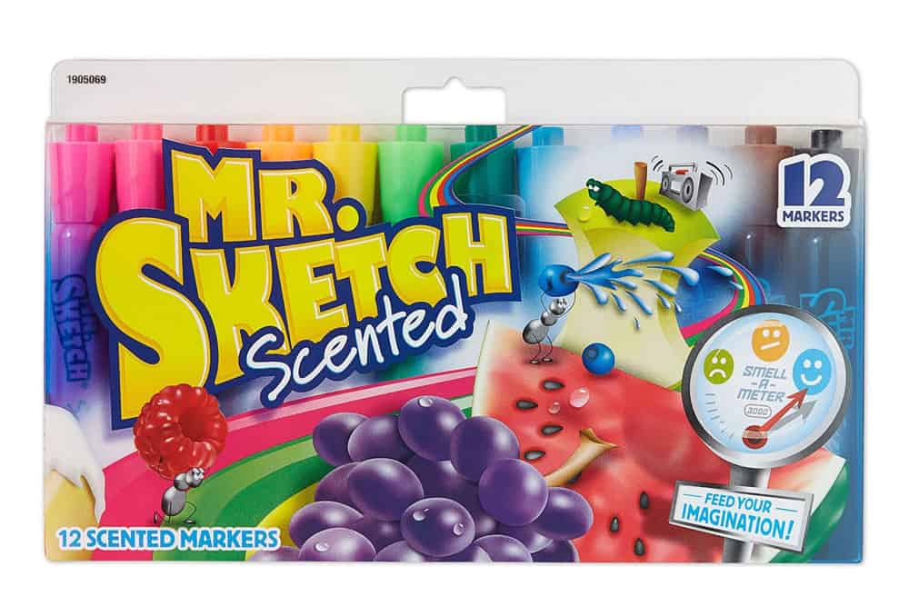 Newell Rubbermaid Mr. Sketch Scented Markers Nostalgic Gift Idea