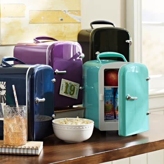 PBteen Mini Cooler Small Fridge for your Work Table