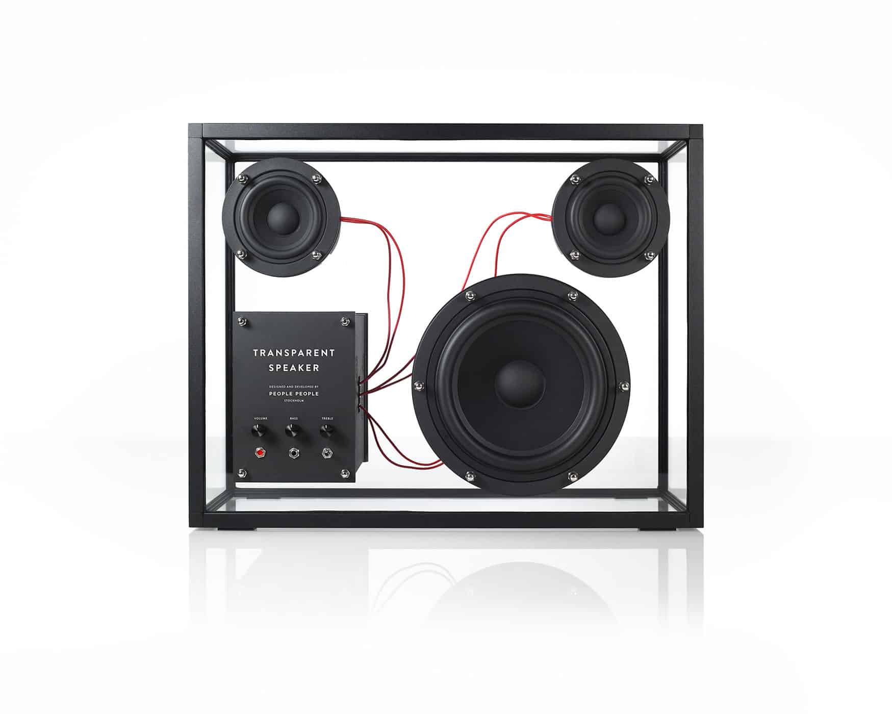 People People Transparent Speaker Innovative Design