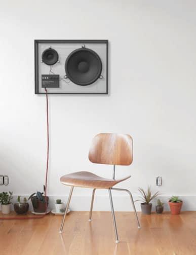 People People Transparent Speaker Minimalist Product