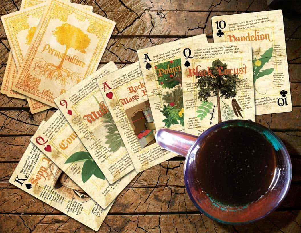 Permaculture Playing Cards Buy Cool Gift for Gardeners
