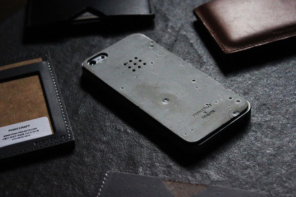 Posh Craft Luna Concrete Skin Unique iPhone Case to Buy