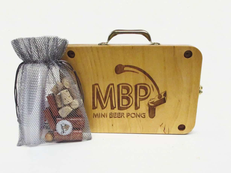 Scienz Premium Mini Beer Pong Set for Travel
