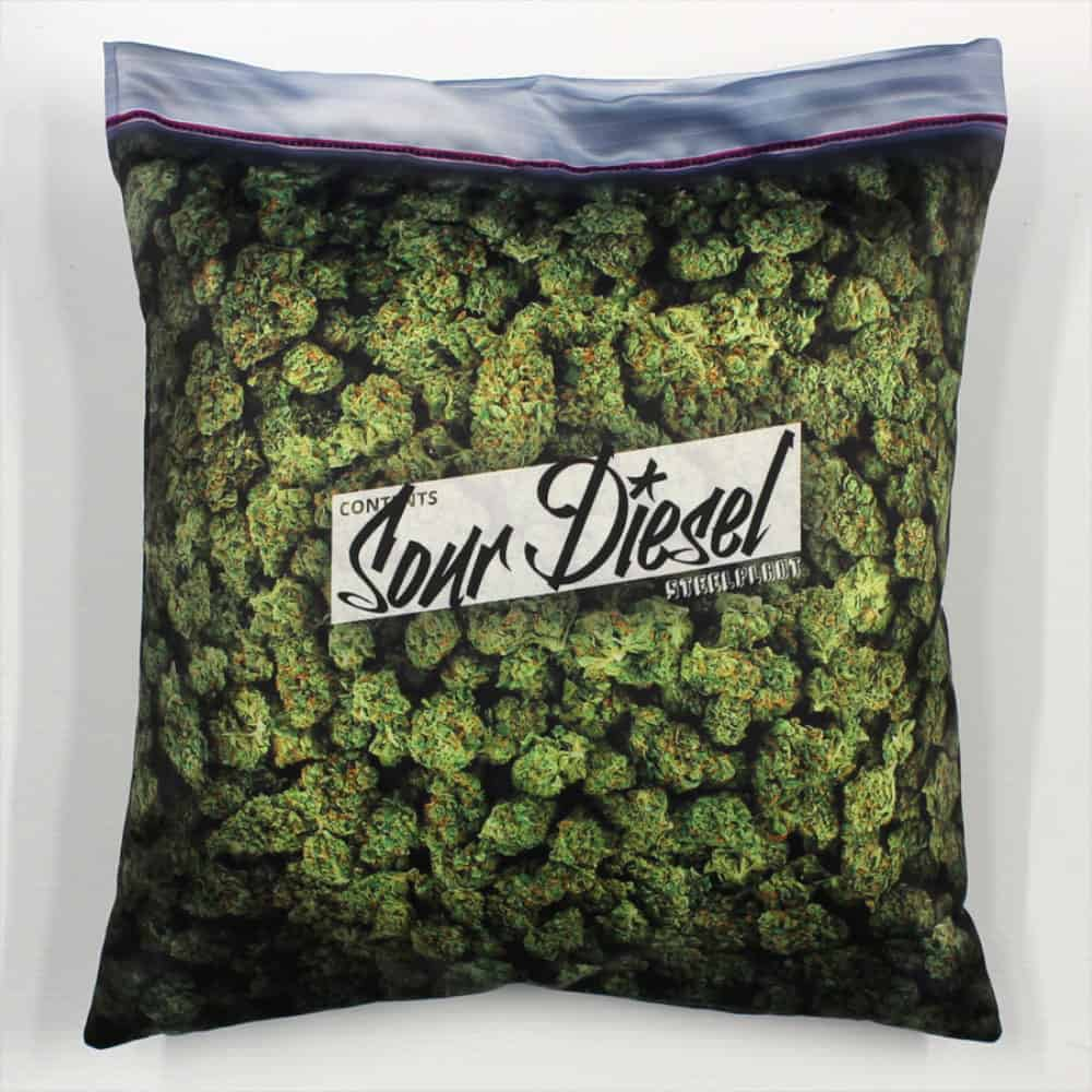 Steelplant Baggie of Cannabis Pillowcase Buy Funny Novelty Item