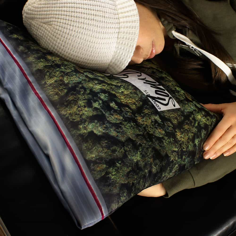Steelplant Baggie of Cannabis Pillowcase Giant Weed Ziploc