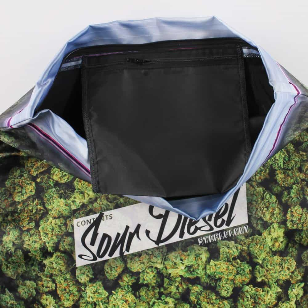 Steelplant Baggie of Cannabis Pillowcase Hiddn Stash