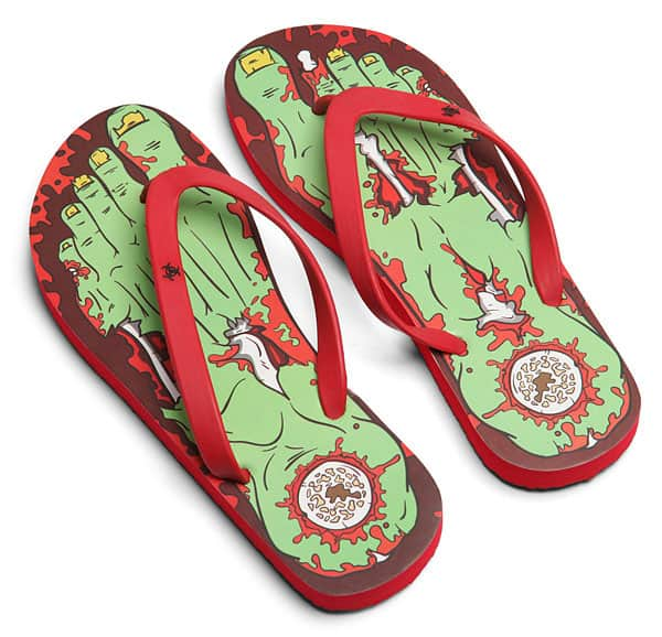 Thinkgeek Fresh Zombie Feet Novelty Item to Buy