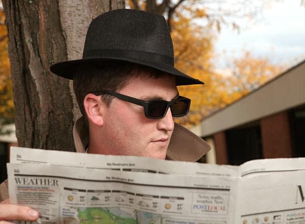 Thinkgeek Rear View Spy Sunglasses Cool Gift Idea for Kids