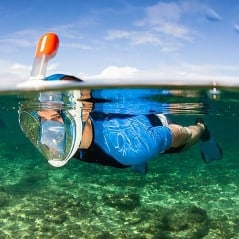 Most natural way to snorkel.