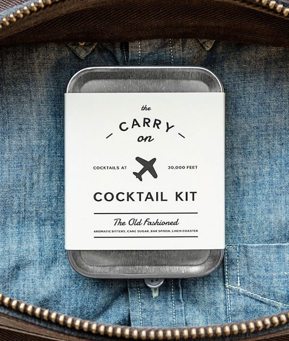 W&P Design Carry On Cocktail Kit Cool Gift to Buy Travelers