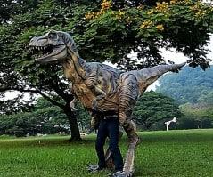Most realistic Tyrannosaurus rex costume… Ever!