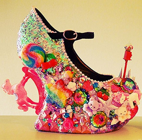 Candy land is just a shoe away.