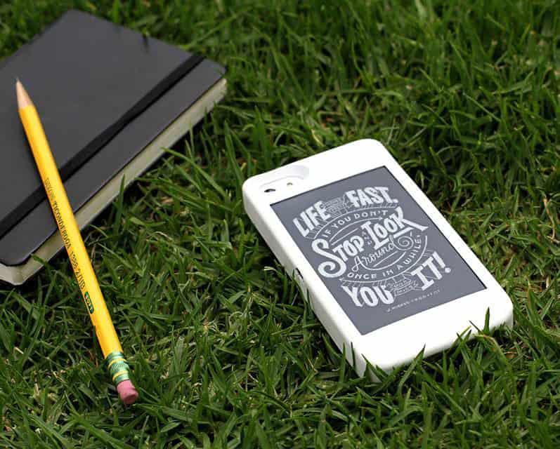 popSLATE iPhone Smart Case College Gift Idea