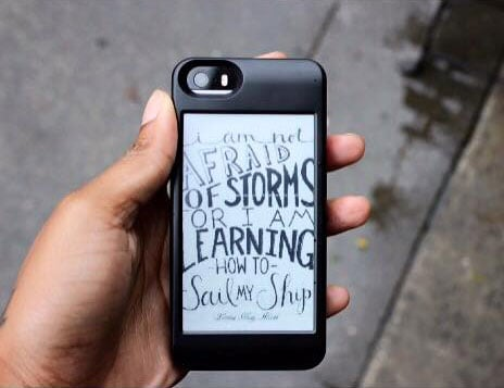 popSLATE iPhone Smart Case  Cool Gadget Accessory
