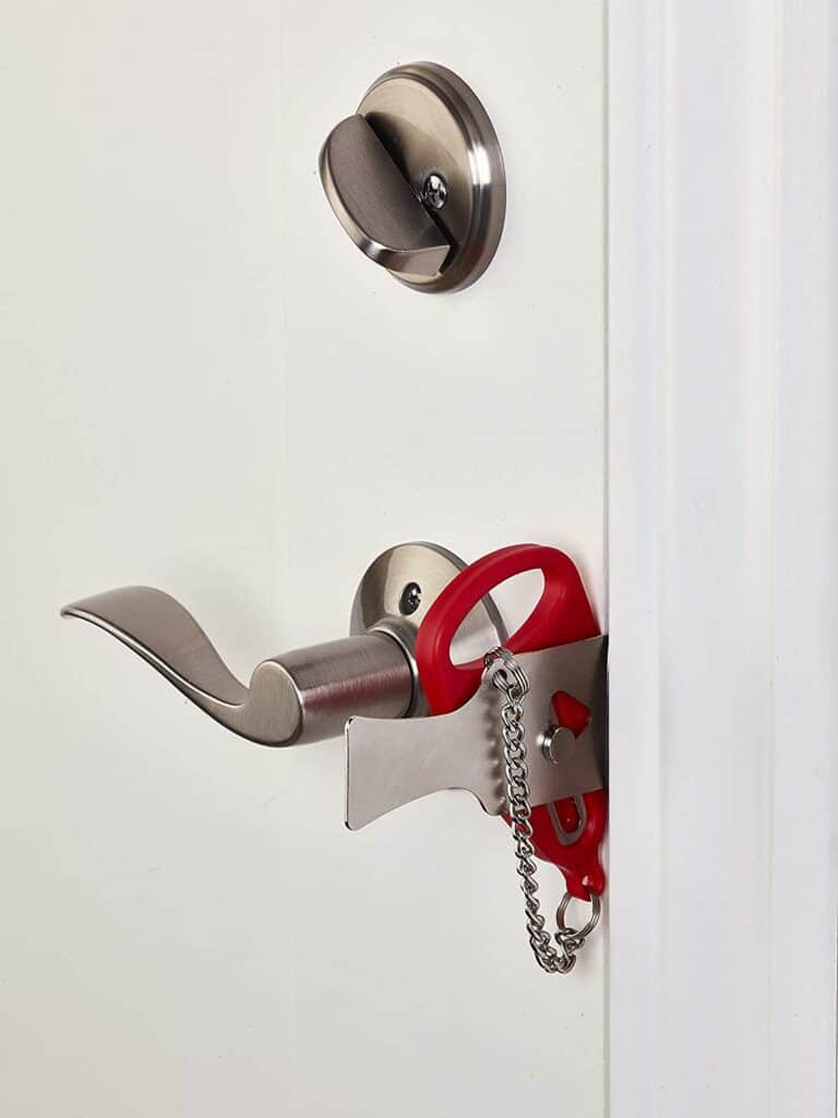 Add-A-Lock Portable Door Lock Cheap Home Safety