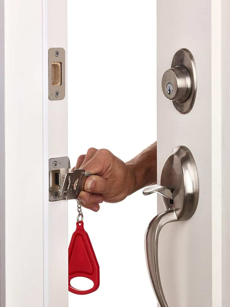 Add-A-Lock Portable Door Lock For Hotels