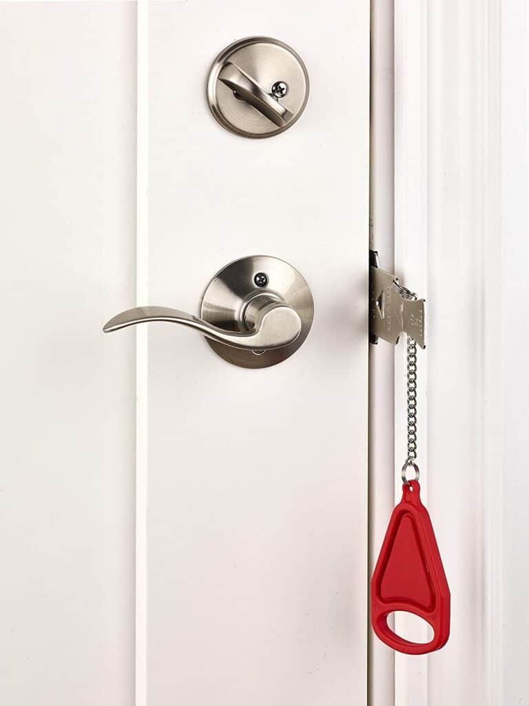 Add-A-Lock Portable Door Lock For Rental Apartment