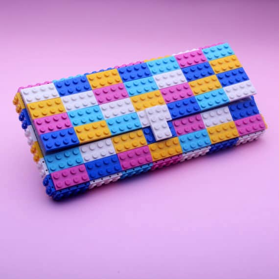 Agabag Multicolor Candy Clutch Colorful Fashion Trend