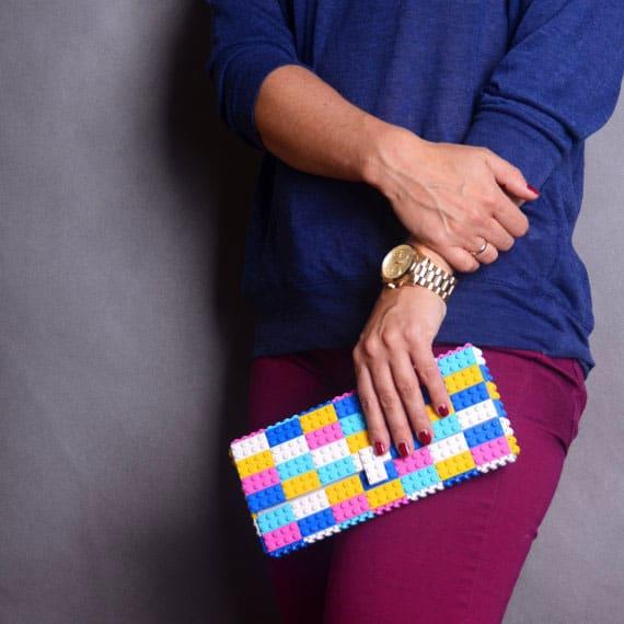 Agabag Multicolor Candy Clutch Cute Fashion Bag
