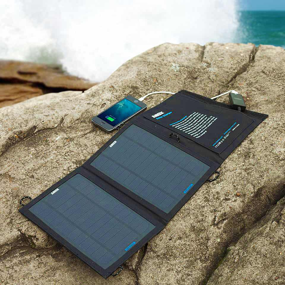 Anker Portable Foldable Solar Charger Cool Gift to Buy Techie People