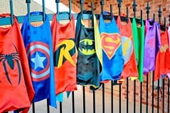 Baileysblossoms Superhero Child Cape Buy Cool Kid Costume