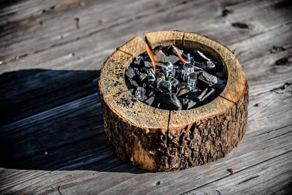 Burnie Grill Burn Charcoal and Wood