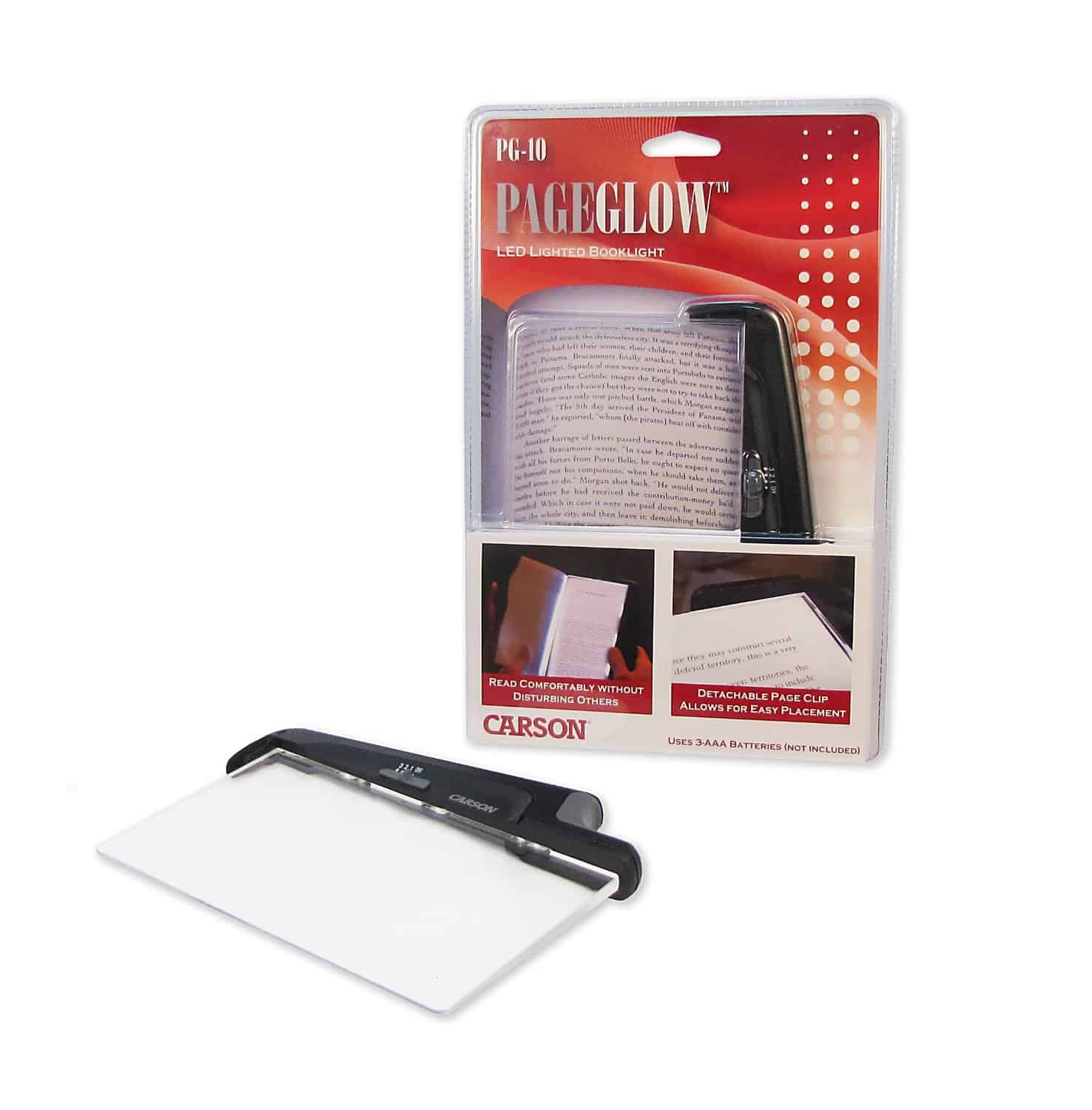 Carson PageGlow LED Reading Lights Buy Cool Bookworm Gadget