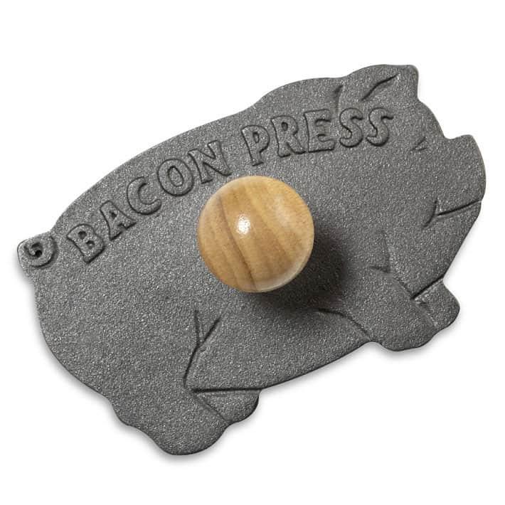 Cast-Iron Bacon Press Novelty Item
