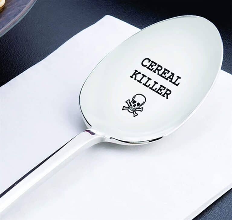 Cereal Killer Spoon Jolly Roger Design