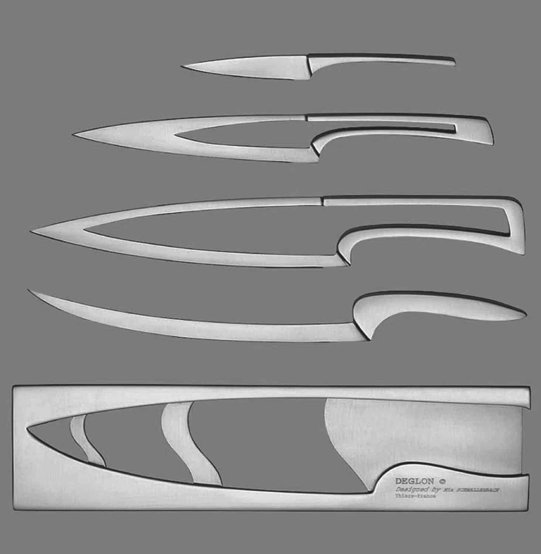 Deglon Meeting Knife Set Stainless Steel Kitchen Tool