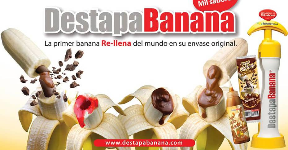 DestapaBanana Banana Filler  Simple Dessert Idea