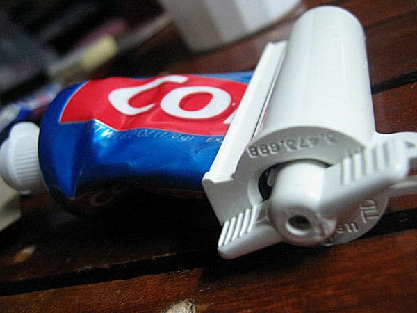Get more toothpaste for your buck.