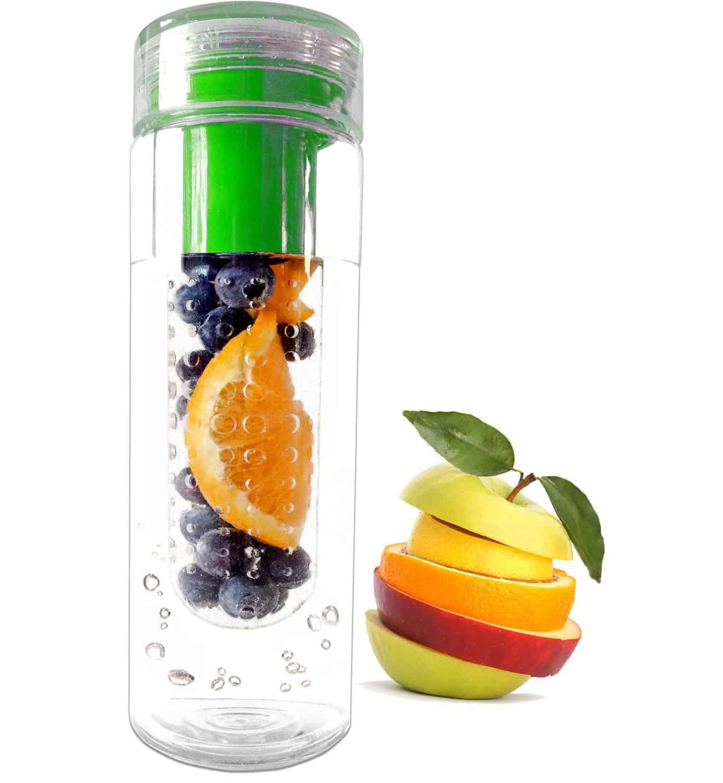 FruitFused Infuser Water Bottle Fruit Flavored Drink
