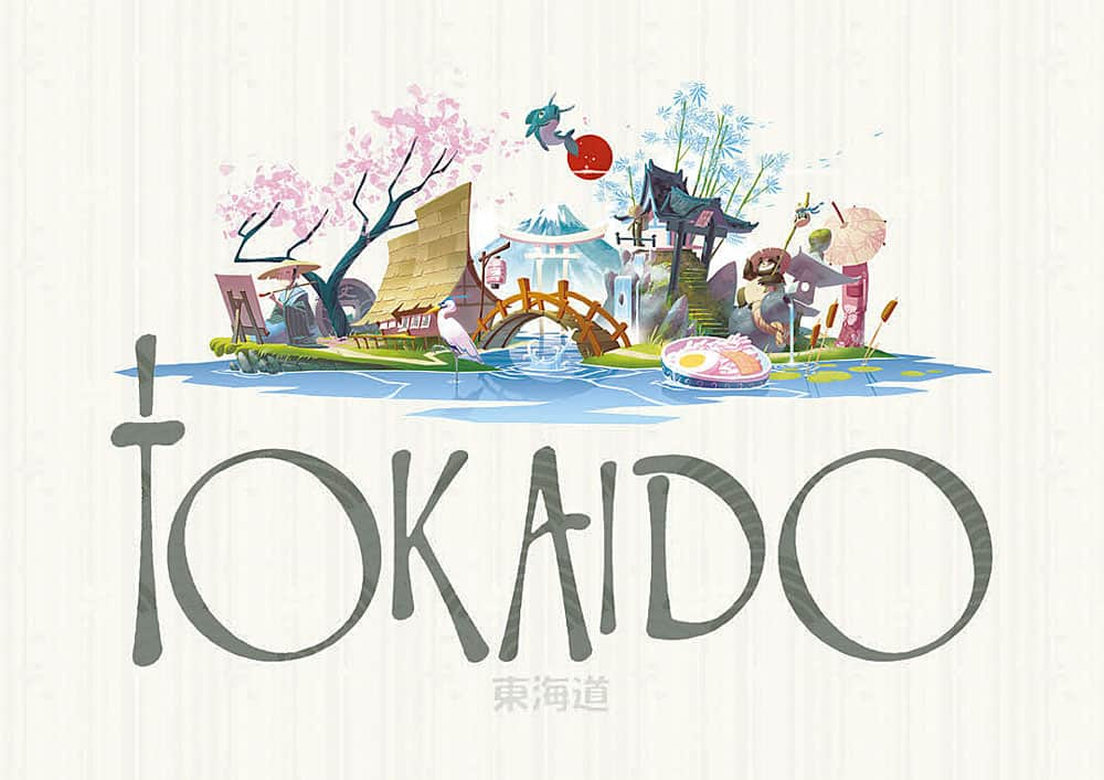 Fun Forge Tokaido Board Game Awesome Artwork