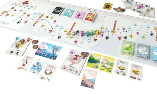 Fun Forge Tokaido Board Game Unique kind of Game