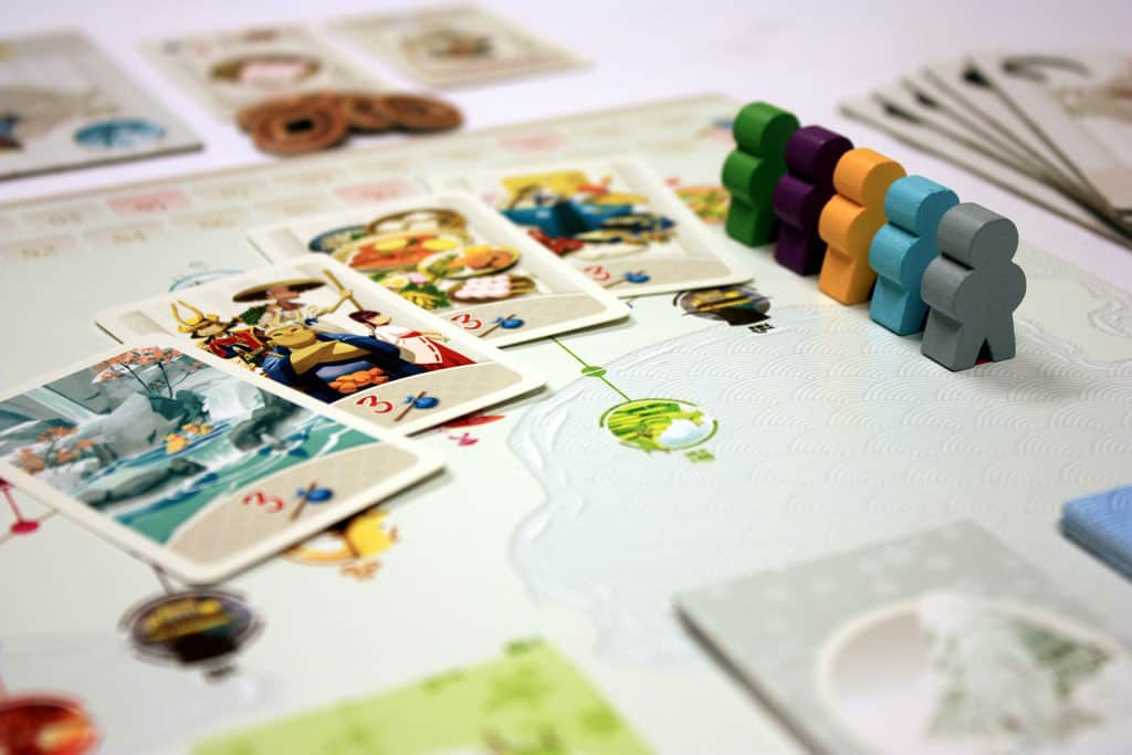 Fun Forge Tokaido Board Game with Nice Artwork