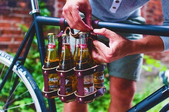 Fasten up your 6 pack caddy for a safer ride.