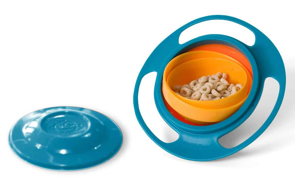 Gyro Bowl Food Storage for Toddlers