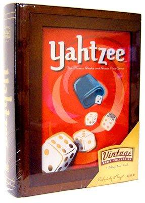Hasbro Library Edition Board Games Yahtzee
