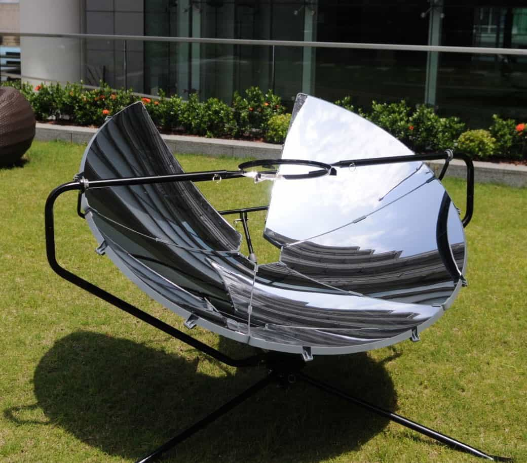 One Earth Designs SolSource Solar Cooker Cook without Gas or Electricity
