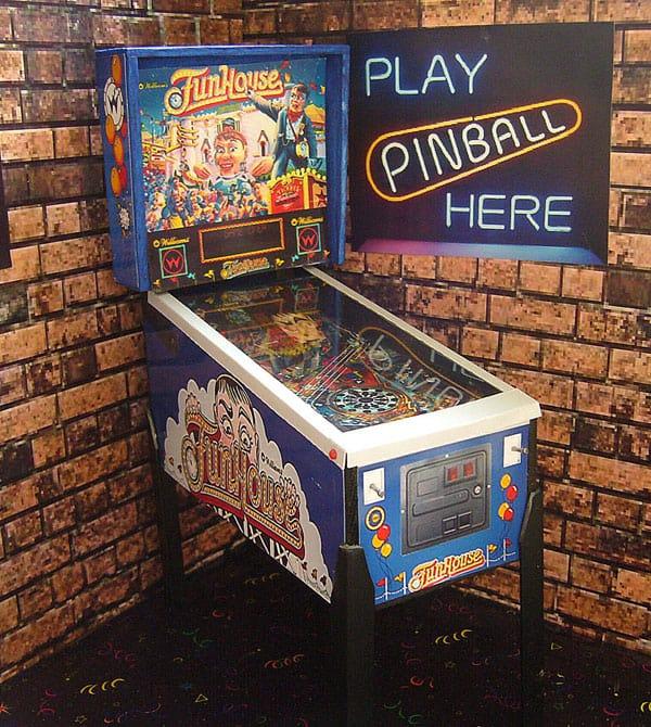 Pinball Arcade Miniature Pinball Table Funhouse Nostalgic Game