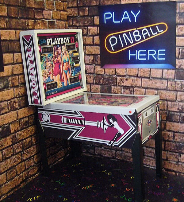 Pinball Arcade Miniature Pinball Table Playboy Retro