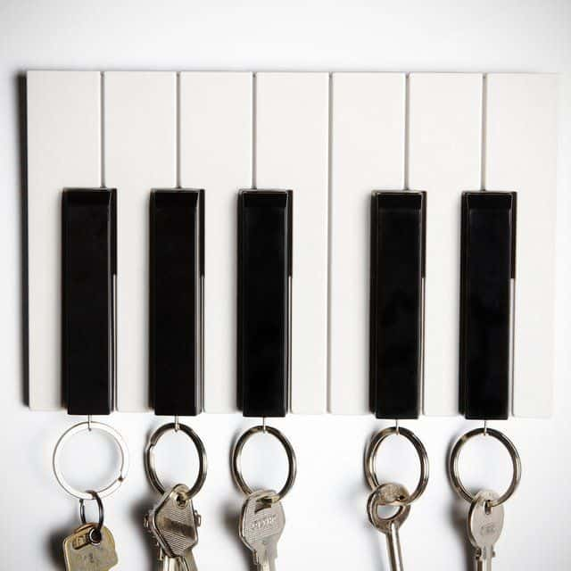 Qualy Key Piano  Cute Musical Home Fixture