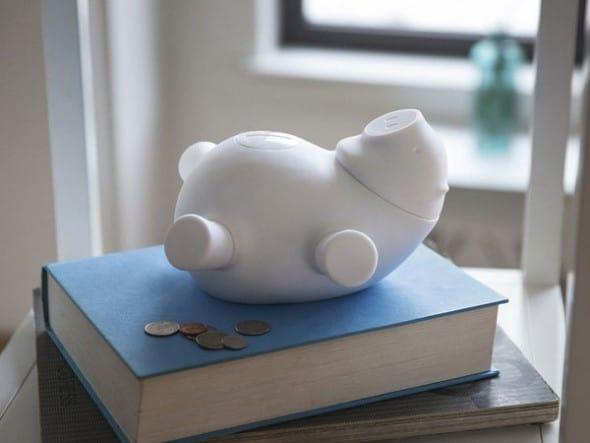Smart piggy bank.