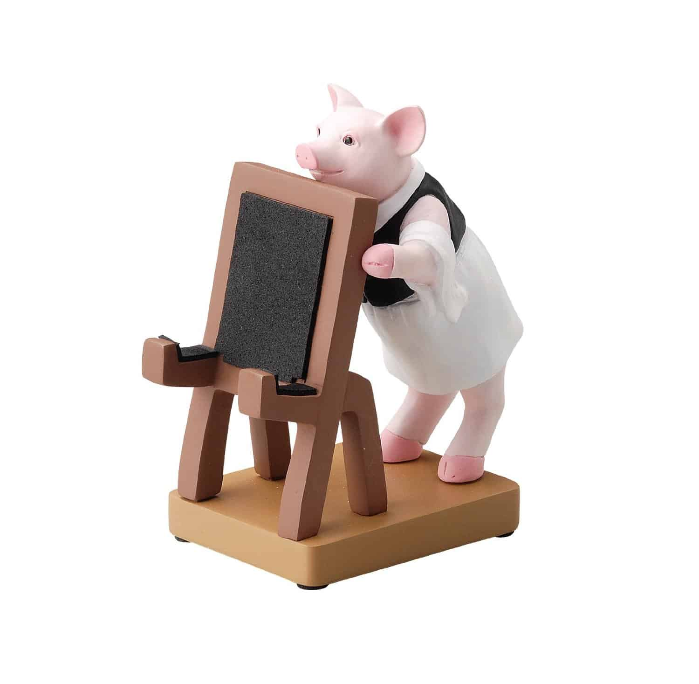 Seto Craft Astronaut Smartphone Stand & Various Figures Bartender Pig