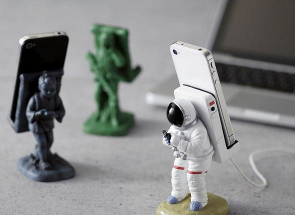 Seto Craft Astronaut Smartphone Stand & Various Figures Buy Novelty Item