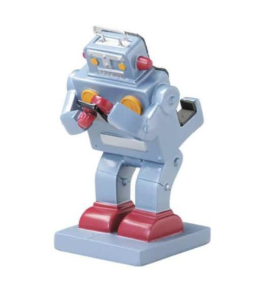Seto Craft Astronaut Smartphone Stand & Various Figures Retro Robot