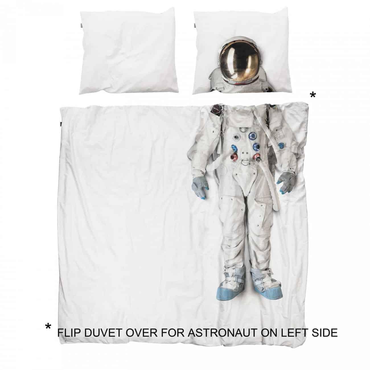 Snurk Astronaut Duvet Cover Bed Theme