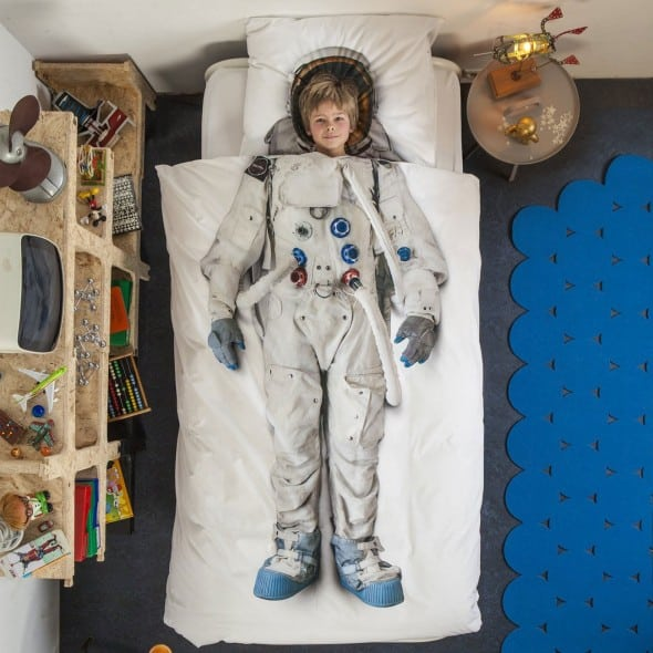 Snurk Astronaut Duvet Cover Buy Cool Bedsheet for Kids