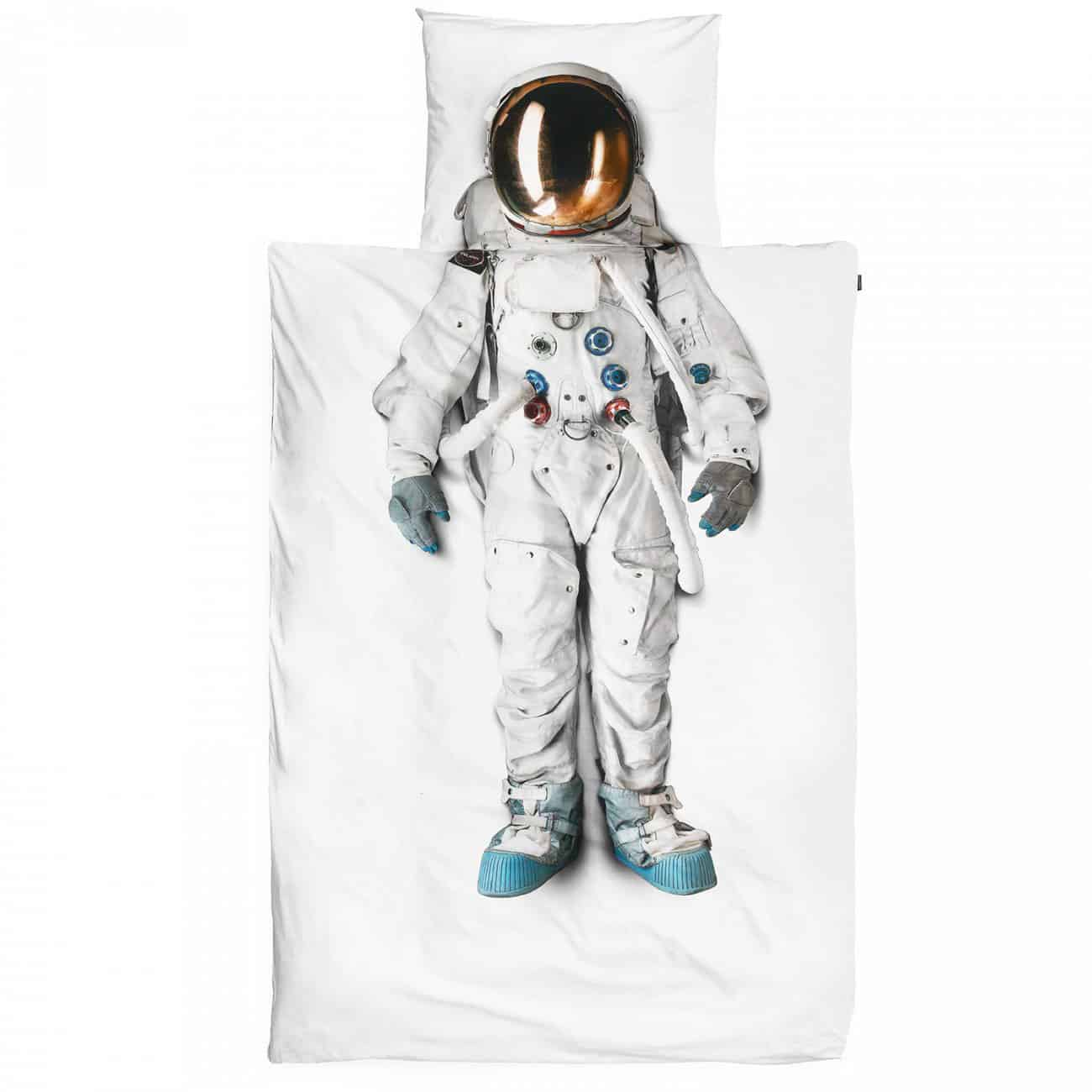 Snurk Astronaut Duvet Cover Cool Bed Room Accessory